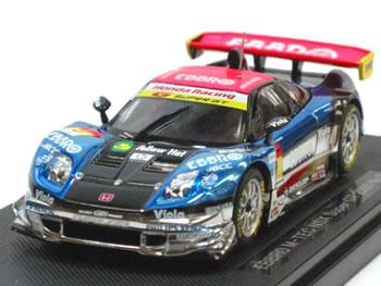 브 1/43 슈퍼 GT 2005 EBBRO M-TEC NSX No.0