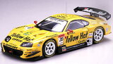 エブロ 1/43 スーパーGT 2005 YELLOW HAT YMS SUPRA No.35