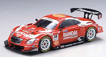 브 1/43 슈퍼 GT 2006 BANDAI DIREZZA SC430 No.35