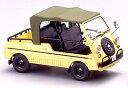 エブロ 1/43 ホンダ バモス 4シーター 1970 イエロー