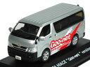 迷你車 - 京商 1/43 トヨタ ハイエース Goo-net Ver シルバー