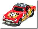 ※車体裏 腐食有※ 【単品】ディズニートミカ ホンダ S800M ミッキーマウス レッド