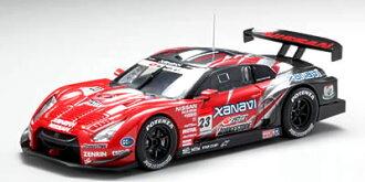 에브로1/43슈퍼 GT 2008 XANAVI NISMO GT-R No. 23