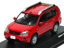 京商 1/43 日産 エクストレイル T31 2007 レッド
