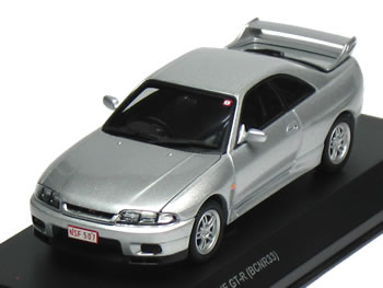 Kyosho 1  43 R33 GT-R Skyline Silver Nurburgring Test Car