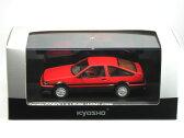 京商 1/43 トヨタ カローラ レビン GT APEX 3ドア 前期型 レッド/ブラック