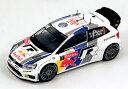 Spark 1/43 Volkswagen Polo WRC No.7 Monte Carlo Rally 2013 (J.M.Latvala/M.Anttila)