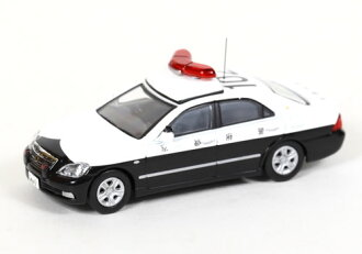 提高 1 / 64 豐田皇冠 180 京都員警管轄員警巡邏車輛
