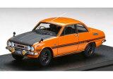 MARK43 1/43 いすゞ ベレット GT タイプR (PR91W) スポーツホイール メープルオレンジ