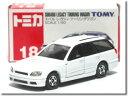 【旧番】トミカ018 スバル レガシィ ツーリングワゴン