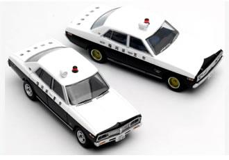TLヴィンテージ NEO 西部警察 08 グロリア/ローレル 福岡県警察 パトロールカー 2台セット