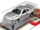 キーチェーン トミカ 日産 スカイライン R33 GT-R シルバー