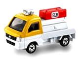 【单件】Tomica 斯巴鲁Sambar灯油销售车[【単品】トミカ スバル サンバー 灯油販売車]