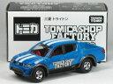 特注トミカ トミカショップ 組み立て工場 三菱 トライトン ブルー (内装:レッド)