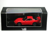 WIT''S 1/43 マツダ RX-7 (FD3S) スピリットR Type A 2002 ヴィンテージレッド