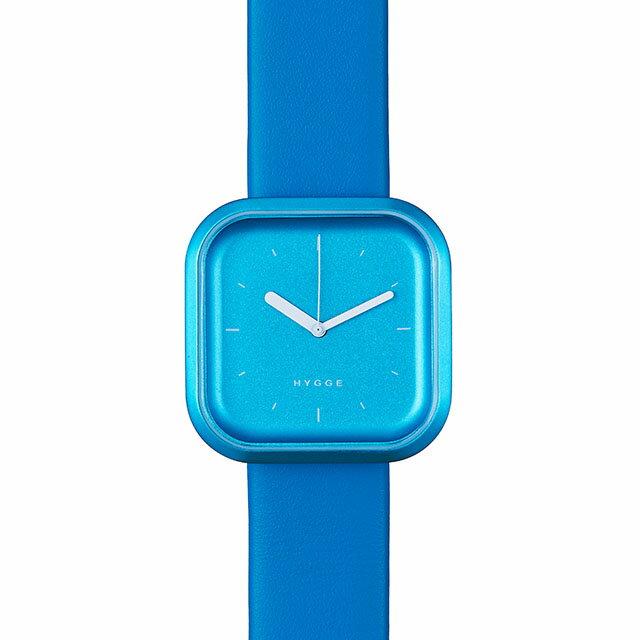 ヒュッゲ HGE020068 Vari Line Ocean Blue バリライン オーシャンブルー 腕時計 ユニセックス HYGGE 北欧 時計 卒業 入学 就職祝 \\ 10%OFFクーポン配布中 //