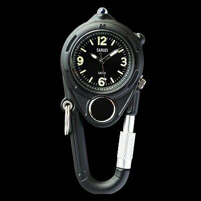 LED KEY WATCH 携帯用時計 ブラック SR-009BK クリスマス おしゃれ かわいい 腕時計 懐中時計 時計 レトロ アンティーク