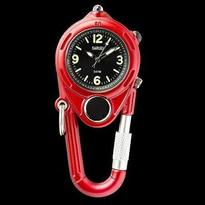 LED KEY WATCH 携帯用時計 レッド SR-009RD クリスマス おしゃれ かわいい 腕時計 懐中時計 時計 レトロ アンティーク