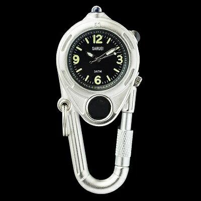LED KEY WATCH 携帯用時計 シルバー SR-009SV クリスマス おしゃれ かわいい 腕時計 懐中時計 時計 レトロ アンティーク