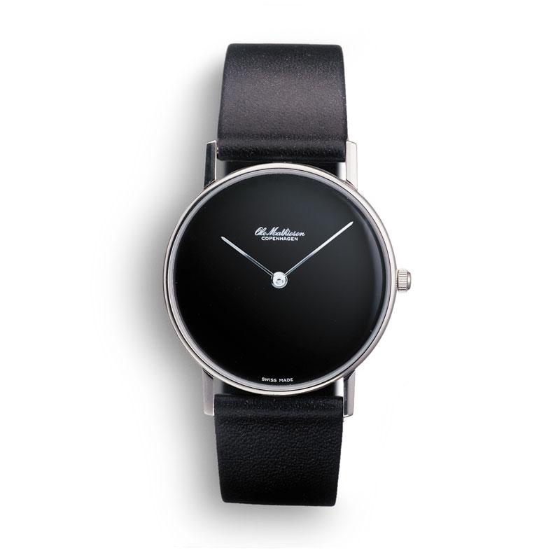 オーレマティーセン NO.INDEX.BLACK DIAL OM-4.33 腕時計 メンズ 時計 卒業 入学 就職祝 \\ 10%OFFクーポン配布中 //