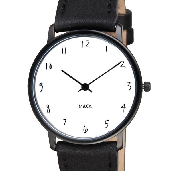 M&Co 腕時計 7406 Scratch ユニセックス スクラッチ ティボール・カルマン Tibor Kalman 時計 卒業 入学 就職祝 \\ 10%OFFクーポン配布中 //