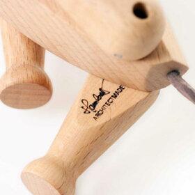 ArchitectMADE(アーキテクトメイド)オスカー【Oscar犬木おもちゃオブジェ置き物コペンハーゲンヨーロッパ北欧デザイン】