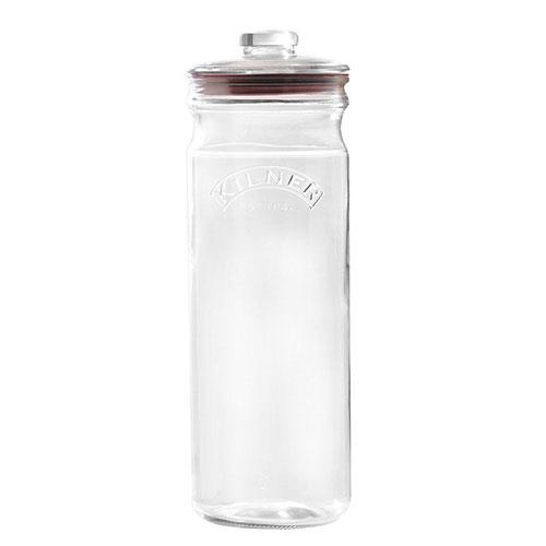 キルナー プッシュトップジャー 2.35L KILNER ガラスジャー スパゲティー パスタ 保存容器 保存ビン ガラス 密閉 保存瓶 ビン 瓶 グラス キルナージャー PUSH TOP GLASS STORAGE JAR ホワイトデー