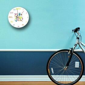 ミュージックノートクロック掛け時計時計音符音譜楽譜音楽掛け時計壁掛時計音符時計ミュージックウォールクロック音楽教室クラシック時計