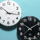 《全2色》BRUNO 電波モノクロウッドクロック 【ブルーノ IDEA LABEL イデアレーベル 掛け時計 壁時計 デザイン雑貨 電波掛け時計 北欧】