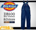 [dickies ][Dickies][ own country USA model] send it out immediately (※ reservation:) Two colors of ... order next shipment) ≪ ≫ Dickies( dickies )/Bib Overall (DB100)[Dickies db100 dickies DB100 work pants chino pants] [easy ギフ _ packing] out of 6/