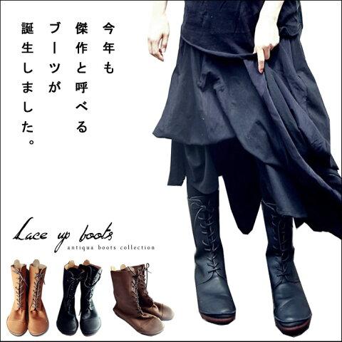 日本製。今年も傑作と呼べる革本来の風合い、本革ブーツ##★10月28日20時〜再再販!