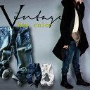 また今日も白を穿く。『デニムを穿く、彼女が素敵な理由。』12月14日20時〜再再再再販!■32番色のLLと、20番色のS・M・LL以外。他とは違う、のっぺりしない、複雑に手を加えた技ありな一本。デザインデニムパンツ##y8