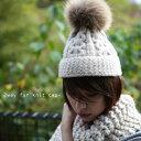 楽天antiqua期間限定送料無料!ふんわりボリュームのファーニット帽でお洒落にハマる。『取り外し可能ファーでニット帽から自分styleに。』11月30日10時&20時〜2回発売!◆商品発送は12月1日〜です。ケーブル編み×ファーで暖かこなれ感が溢れる。ファーニット帽##x9