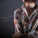 華麗なお花でぐっとレディなエッセンス。『お気に入りのshirtはきっと特別なモノに変えてくれる。』1月22日20時〜発売!フラワーの綺麗の秘密を紐解く。花柄de...