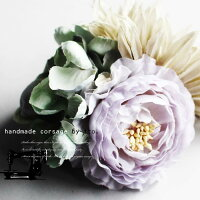 3つの花が持つ個性を発揮、フラワーコサージュ★7月9日20時〜発売!ヘアアクセ 花 アクセ ##n4