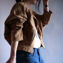ショート丈・ノーカラー・タックでふんわり。『サッと羽織れる、旬コーデ叶う。』2月1日20時〜発売!綿、麻素材でナチュラルに。ノーカラーショート羽織り##e1