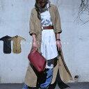 洗いざらしの味わい、大人も満足のロング。『ウォッシュ加工でこなれ印象を手にする。』4月23日20時〜再再再再販!シャツなのに薄手コートとしても!?ウォッシュ生地ロングシャツ##i8