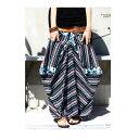 不思議なカタチと柄で魅せる。変形柄ロングスカート・3月14日20時〜発売。##