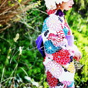 大発表!!彩りを添えるレトロ菊柄。帯&下駄付き花柄浴衣3点セット・4月7日20時〜発