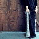 ツイードと立体柄で織りなす、2wayロングスカート・再再販。...