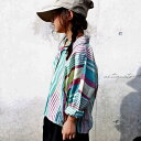 楽天antiquaリラックススタイルも手を抜かない。・9月2日20時〜再販。ストライプドルマンシャツ