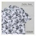【Cathy Jane / キャシージェーン】トワルデジュイ アロハプリントシャツ(DSCJ15)