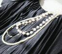 ネックレス パール レディース necklace ウェディン...
