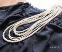 Refined necklace #pn091 of the pearl