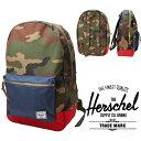 【Herschel Supply】Herschel Supply ハーシェル サプライ STLMNT バッグ リュック バックパック カモ 迷彩 CAMO× NAVY× RED デイパッ..