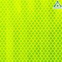 3M(スリーエム) カプセルプリズム型高輝度反射シート PX8423(蛍光黄緑色) NETIS登録済 サイズ:300mm×300mm