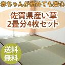 【ちょこんと】置き畳【2畳分4枚セット】 琉球畳 ユニット畳 い草 畳マット 畳 フロア