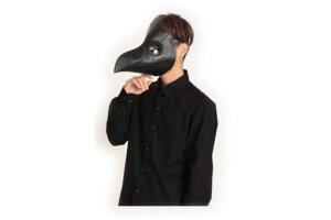 【オリジナル】ペストマスク【ブラック】【仮装】【衣