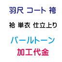 パールトーン加工 羽尺 コート 袴 袷仕立/単仕立
