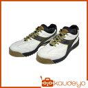 ディアドラ DIADORA 安全作業靴 ピーコック 白/黒 ...